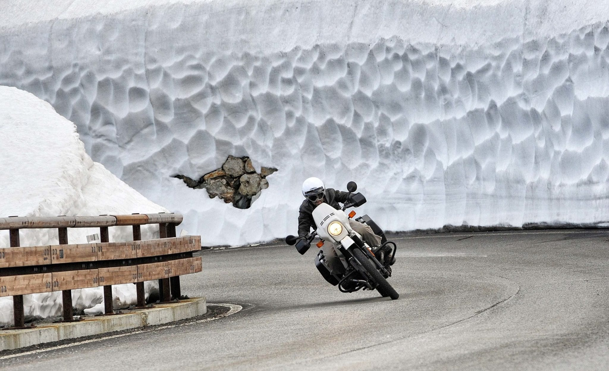 Riding Your Motorcycle in Winter Weather