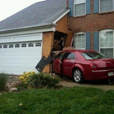 A Car Hits My House! What's Next?