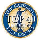 Top 40 Under 40 Trial Lawyers Badge