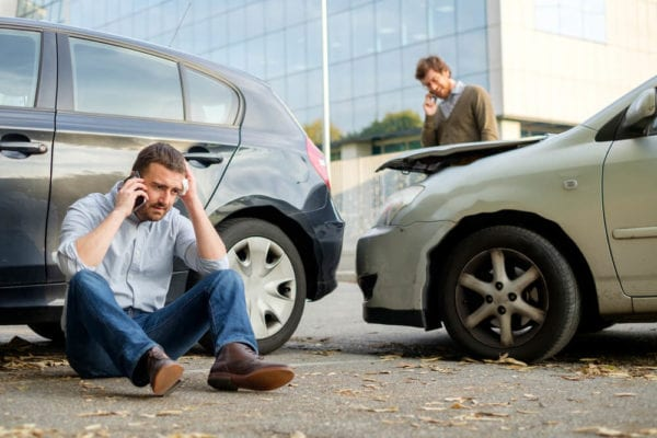 Austin Texas Car Accident Victim speaking to an attorney