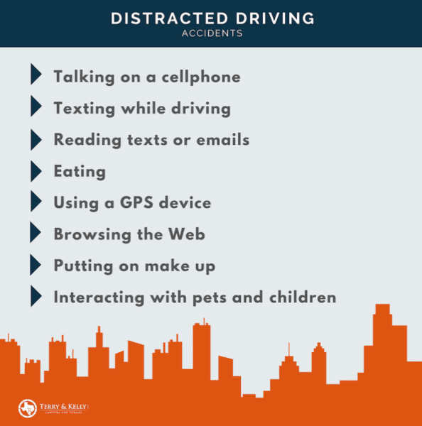 distracted driving accidents in Austin
